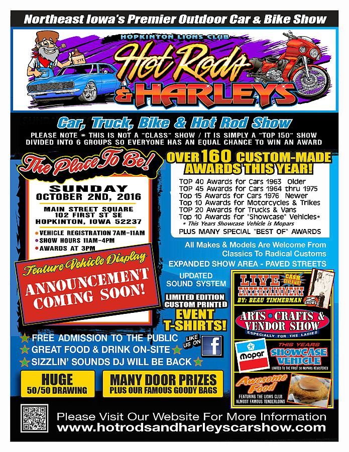 Hot Rods and Harleys Car Show