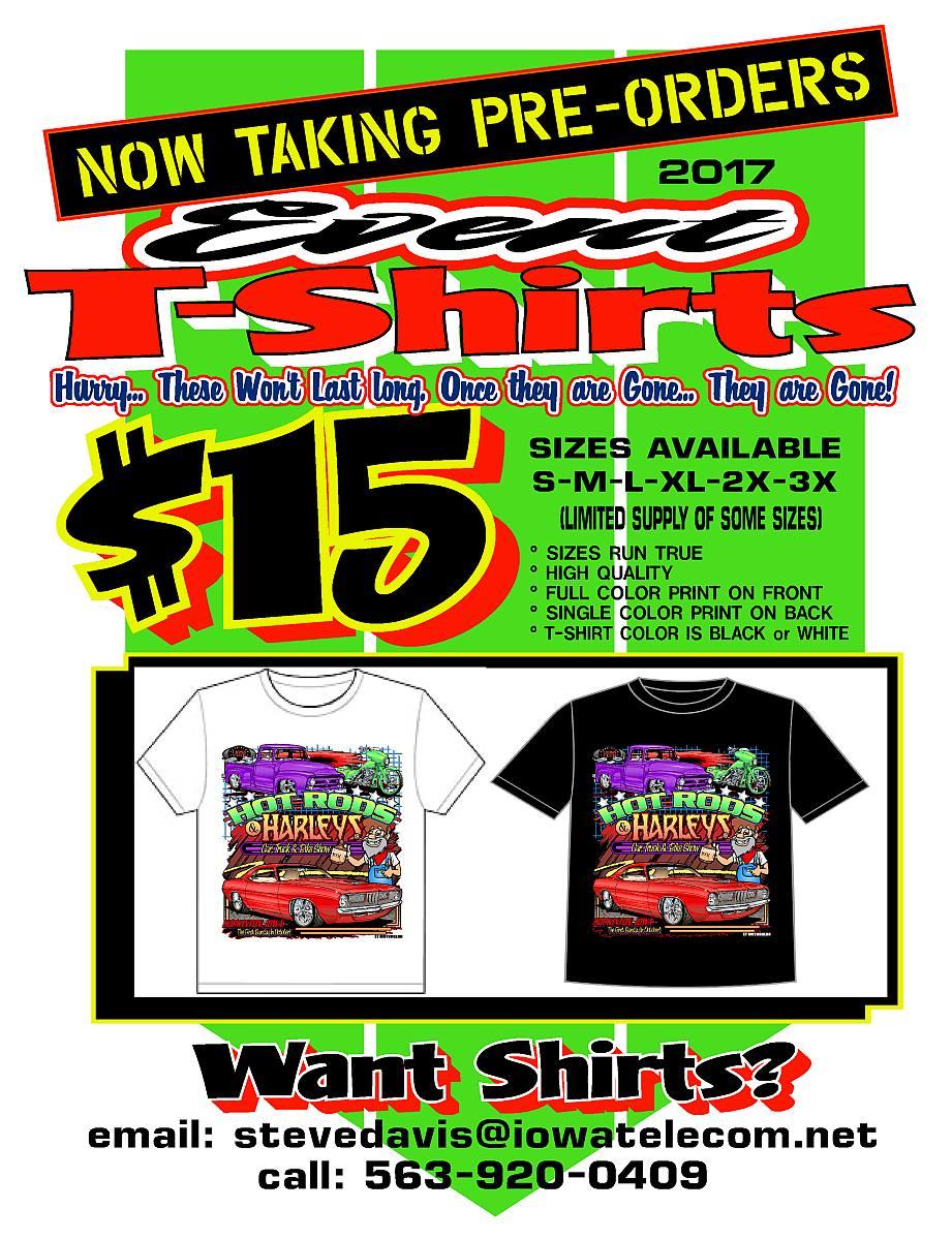 2017 T-Shirt Flyer