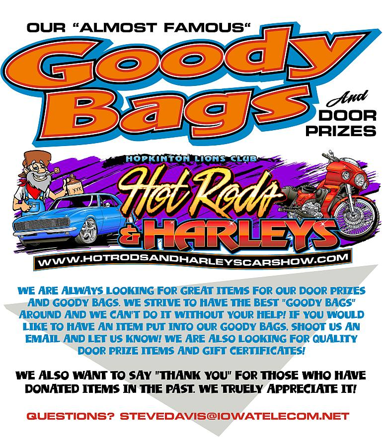 Goody Bags & Door Prizes